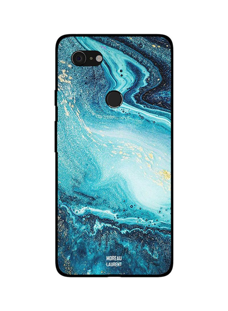 Protective Case Cover For Google Pixel 3XL Water Flow Pattern