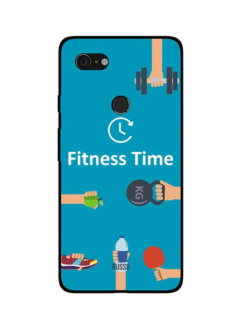 Protective Case Cover For Google Pixel 3XL Fitness Time