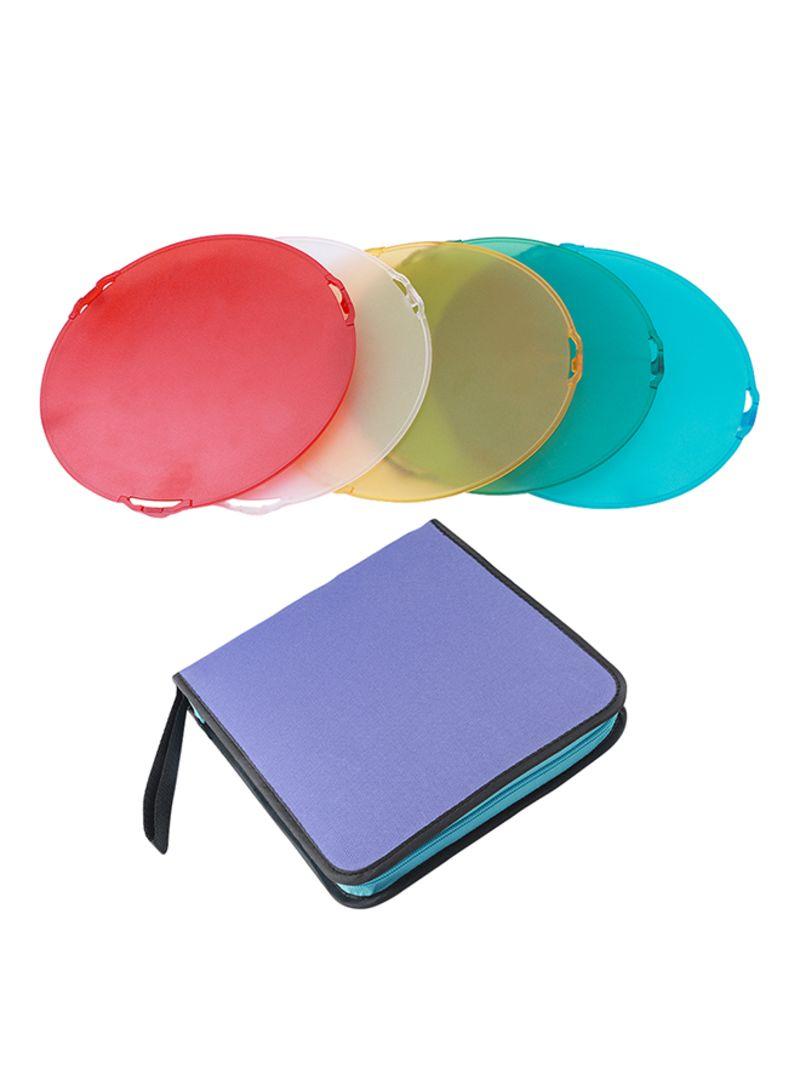 Dish Reflector Color Filters Diffuser Multicolor