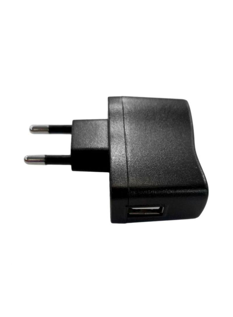 USB AC DC Power Adapter Black
