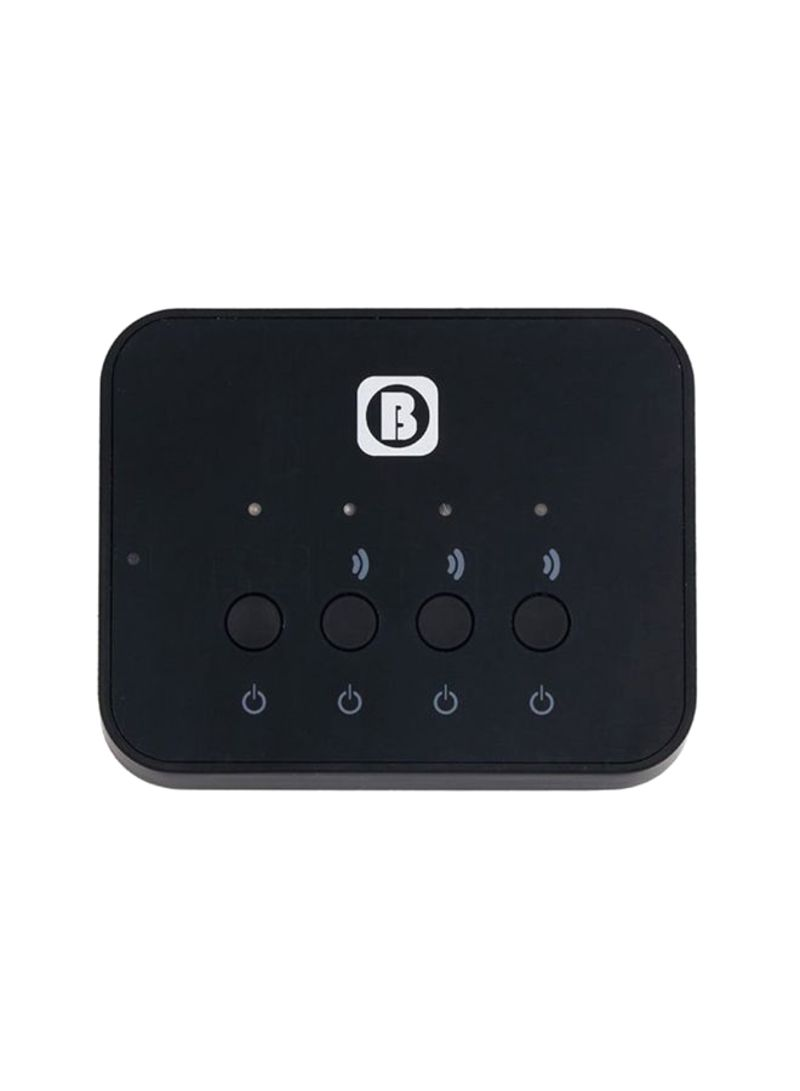 3-in-1 Bluetooth Transmitter Stereo Music Black