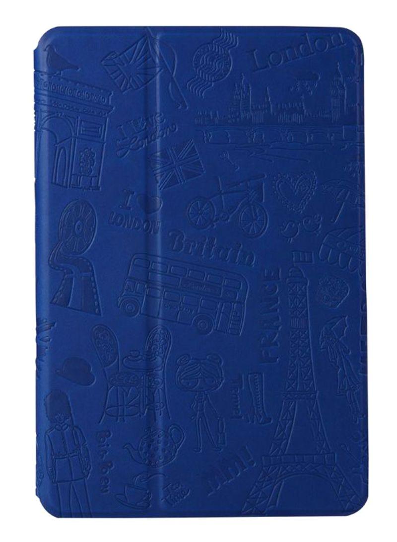 Parisian Style Case For iPad Pro 9.7 Dark Blue