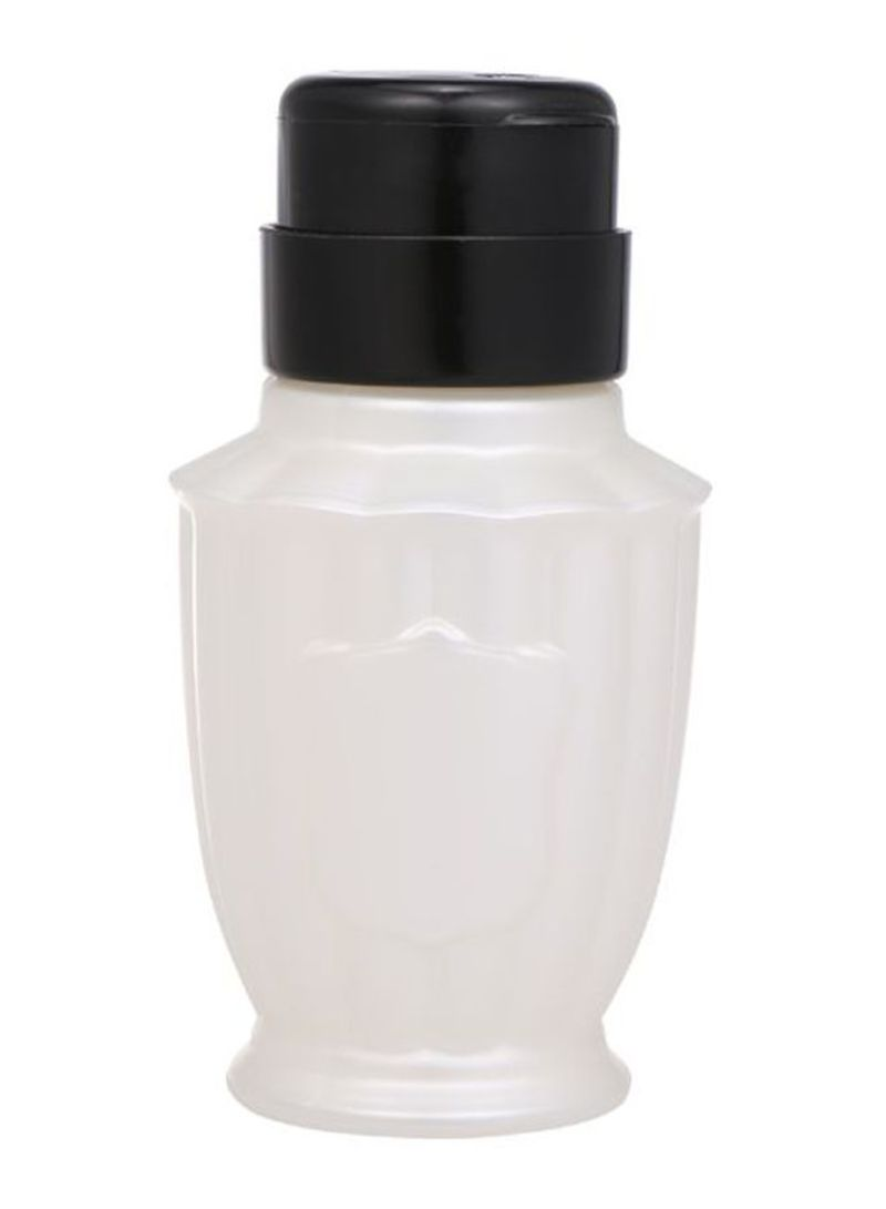 Nail Polish Remover Pump White