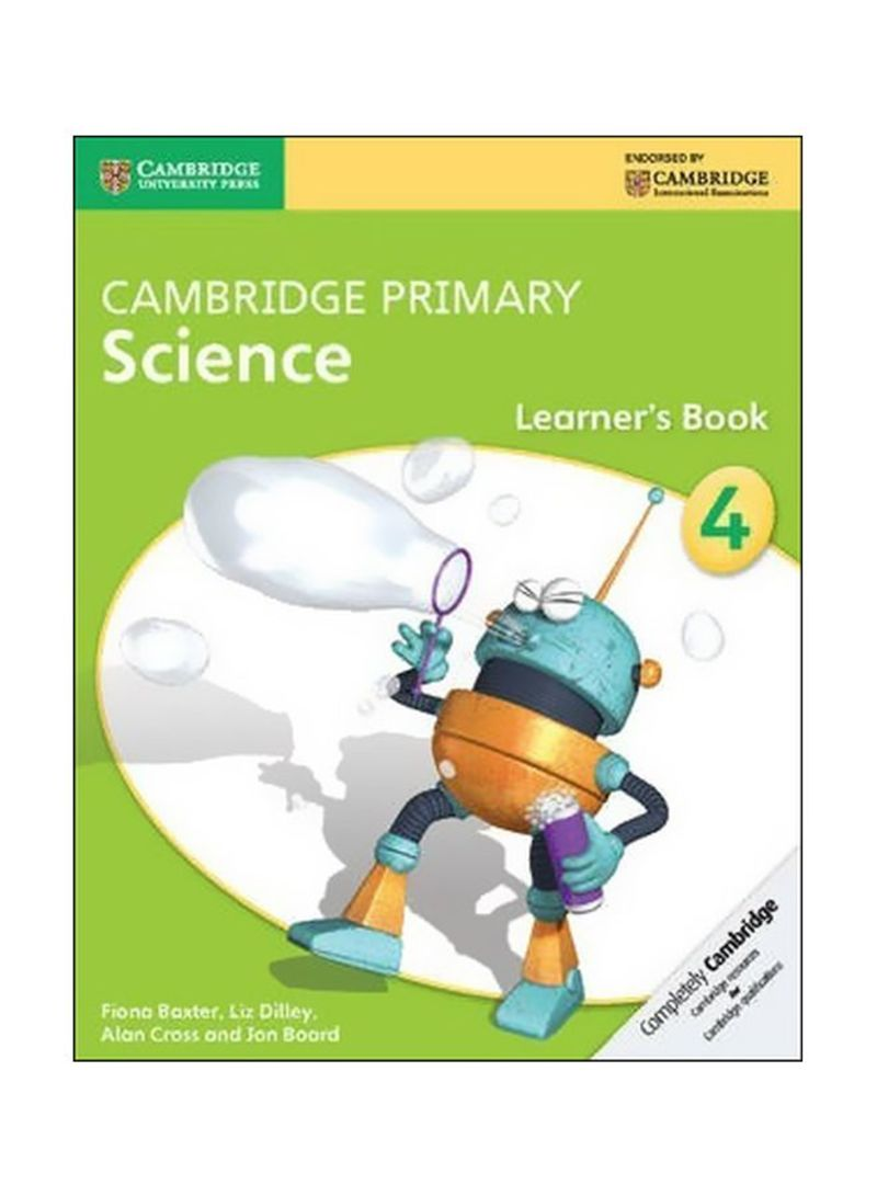 Cambridge Primary Science: Learner's Book 4 Paperback