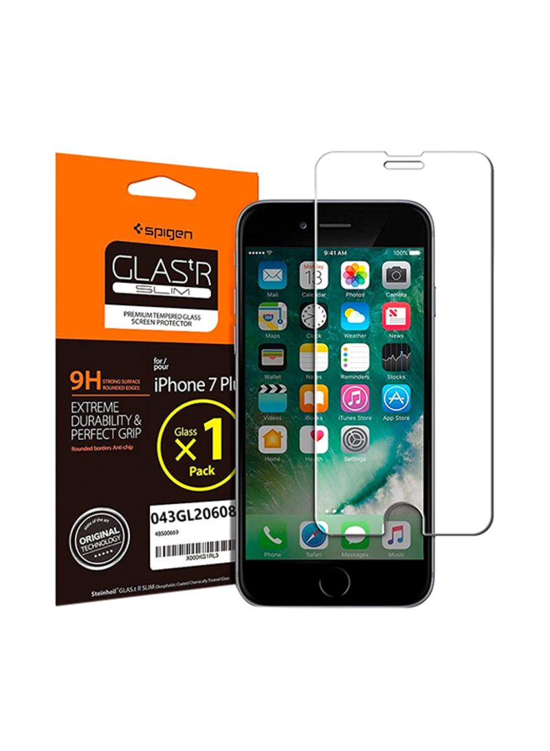 Tempered Glass Screen Protector For Apple iPhone 7 Clear