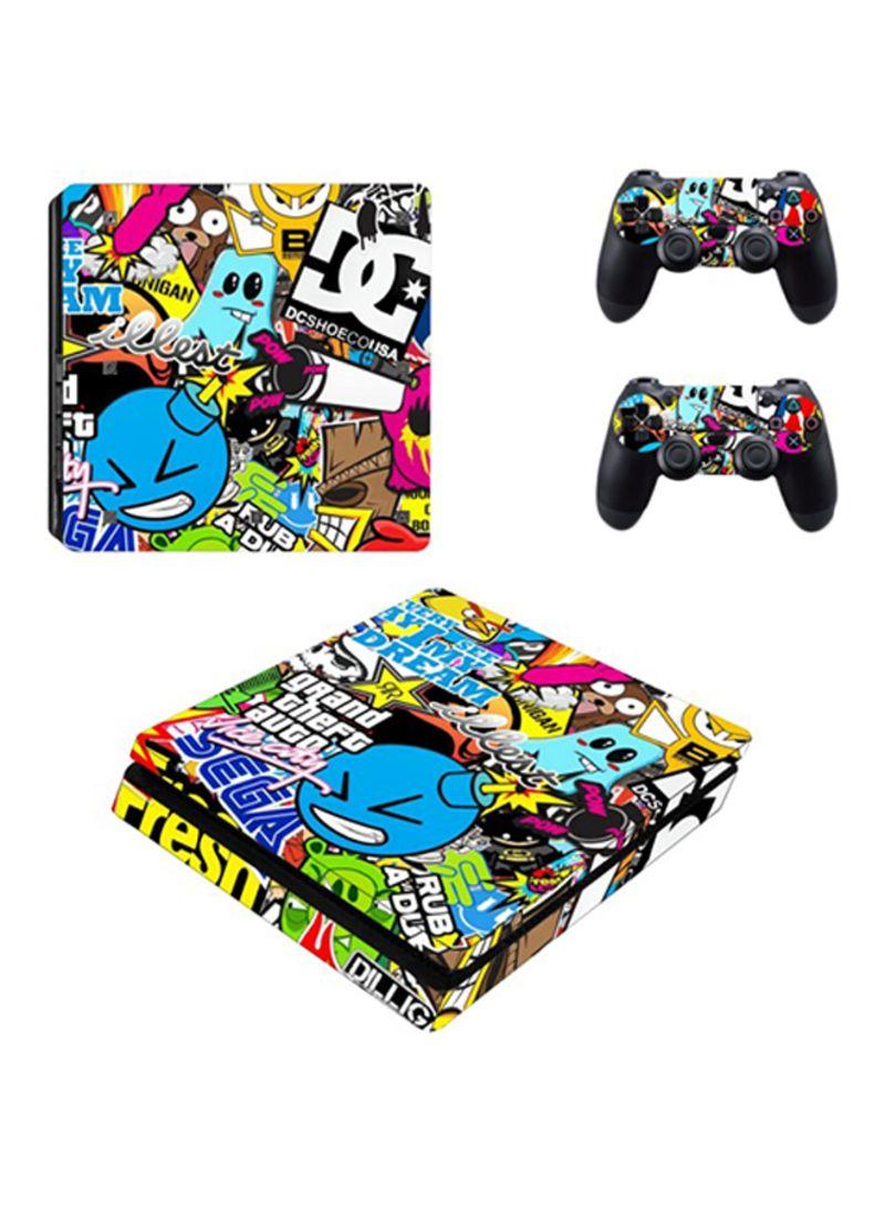 Fantastic Mixed Games Skin For PlayStation 4 Slim
