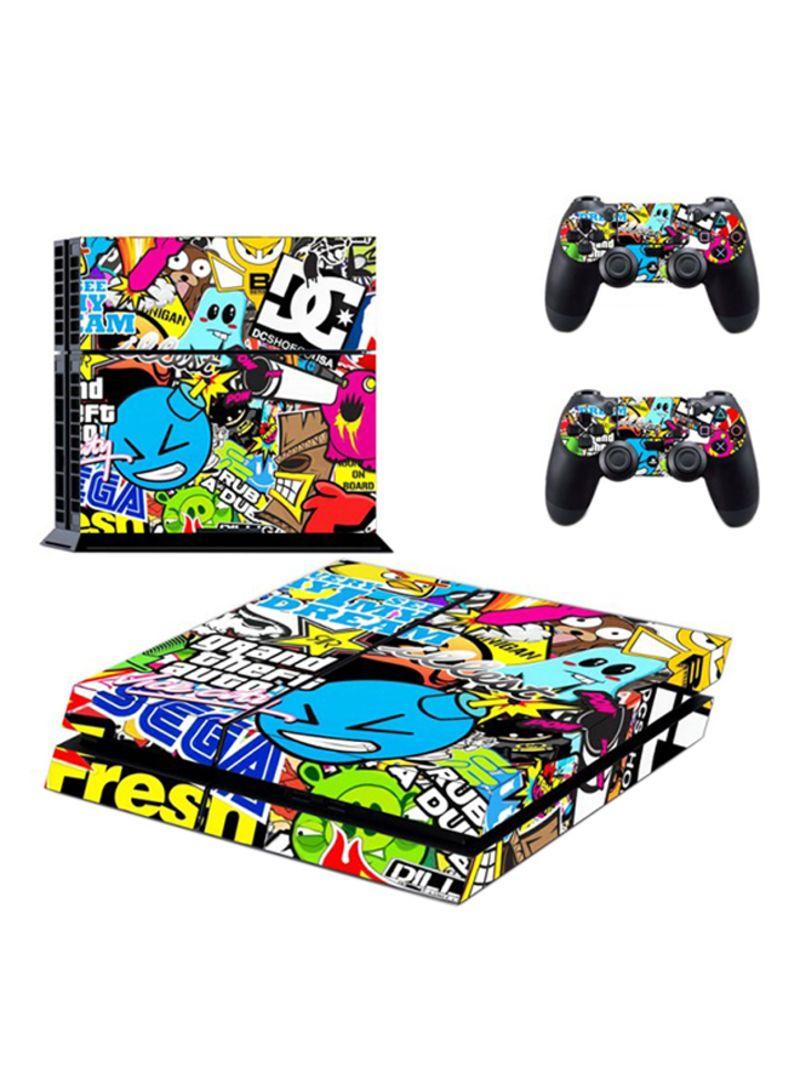 Fantastic Mixed Games Skin For PlayStation 4