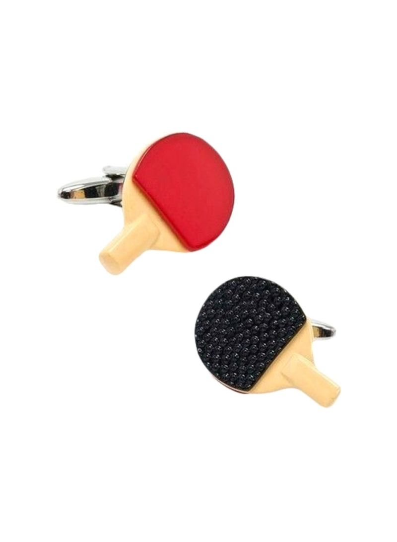 Alloy Table Tennis Cufflinks