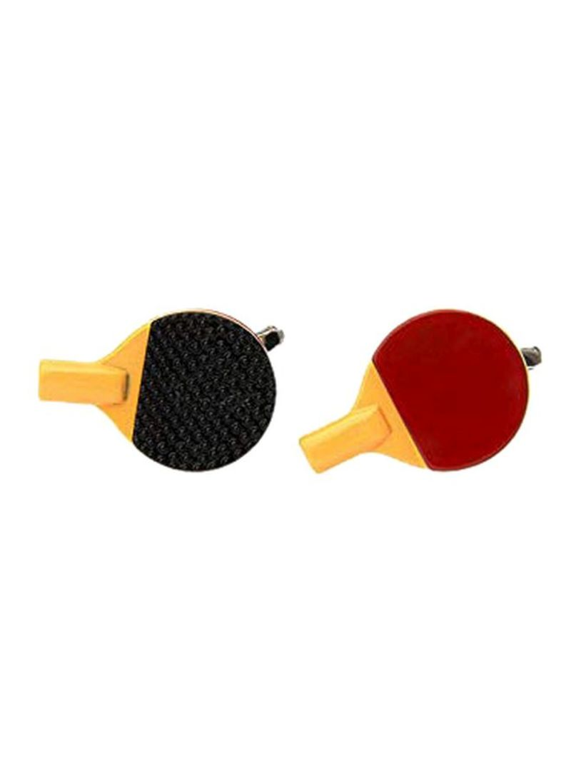Stainless Steel Table Tennis Bat Design Cufflink