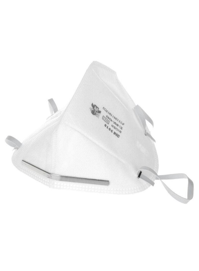 50-Piece Head Mounted Respirator Mask Set White 450 g