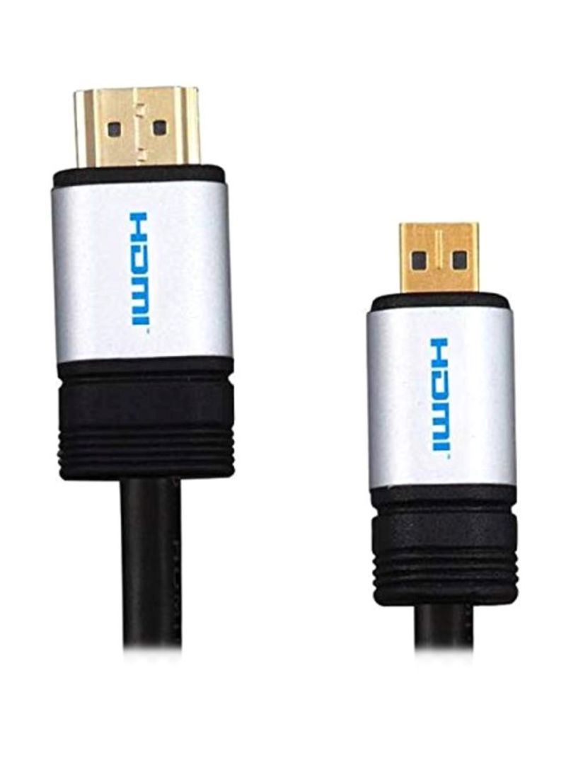 HDMI To HDTV Cable For Lenovo ThinkPad Helix 2nd Gen Ultrabook Black/Silver/Gold 1.5 meter