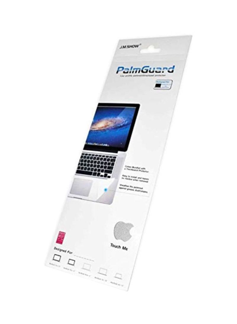 Protective Palmguard And Trackpad For Apple Macbook 11-Inch Laptop Silver