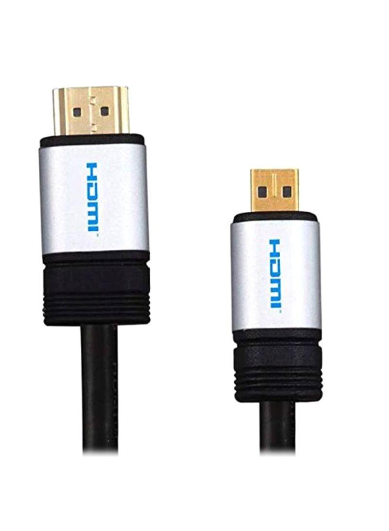 HDMI HDTV Cable For Lenovo Lenovo Yoga 3 Pro 13.30-Inch Laptop Black/Silver/Gold