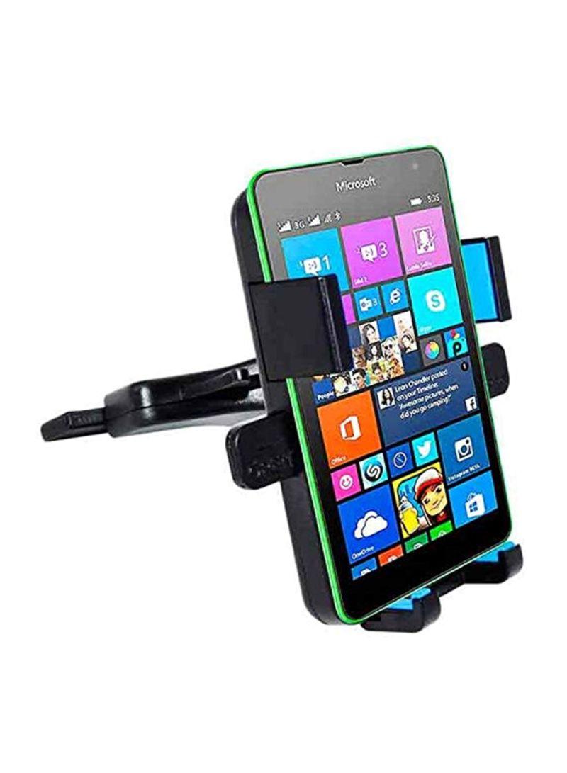Phone Holder With Car CD Slot Black/Blue