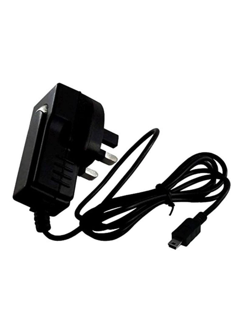 Mini USB Home charger For Smart phones Black/Silver 1.7 meter