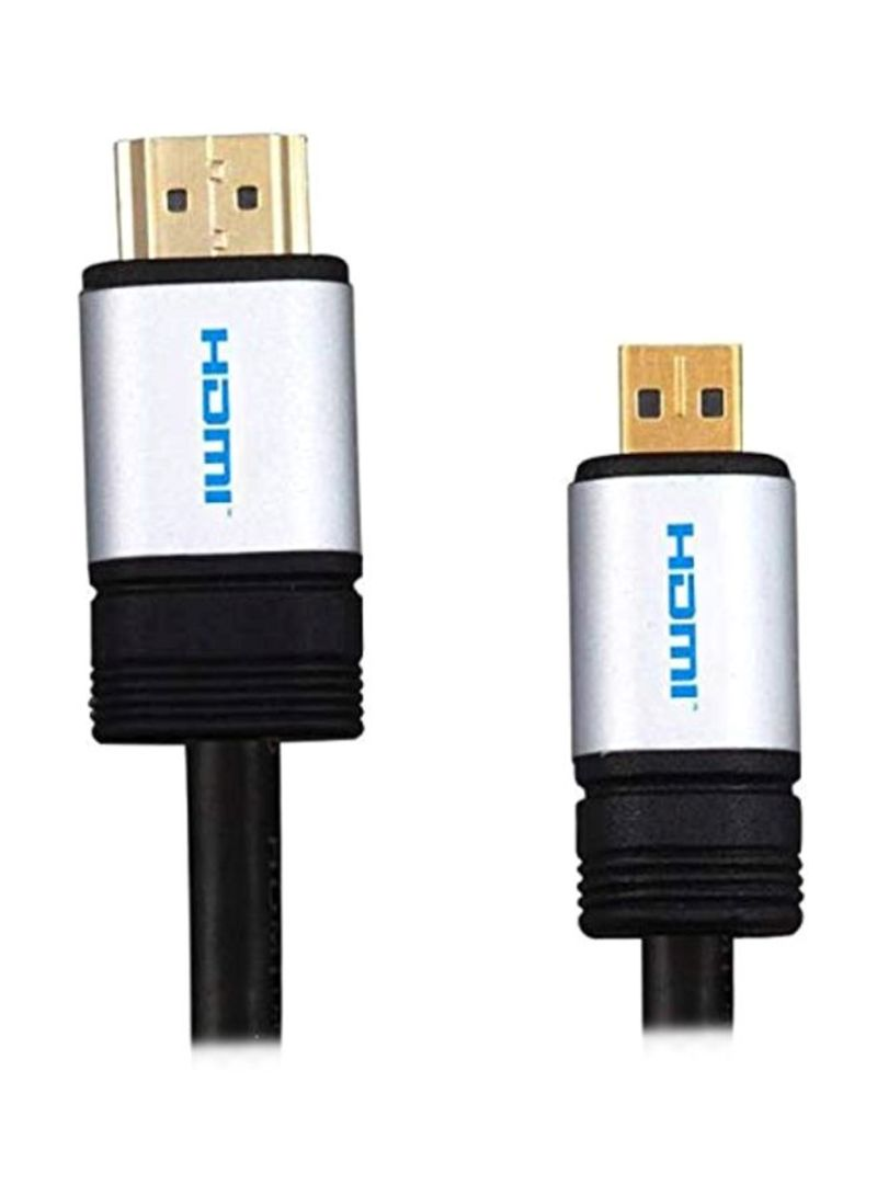HDMI To HDTV Cable For Lenovo IdeaPad K1 Black/Silver/Gold 1.5 meter