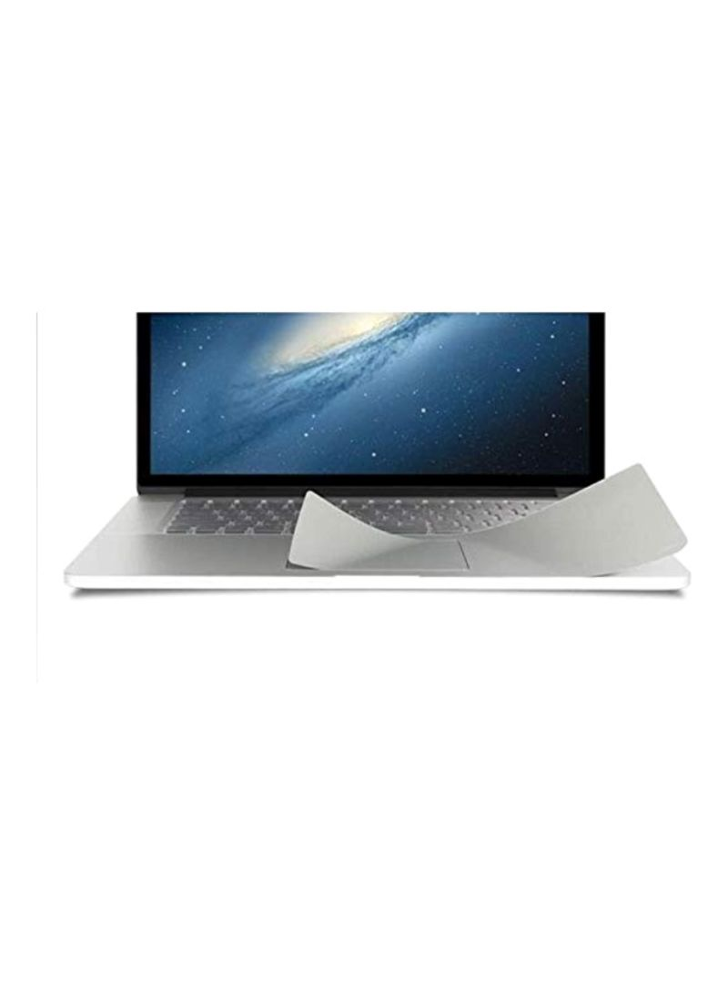 TrackPad Protector For Apple MacBook Pro 15-Inch Silver