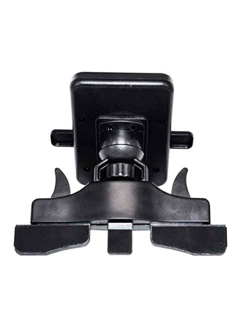 Car CD Slot One Touch Holder Black