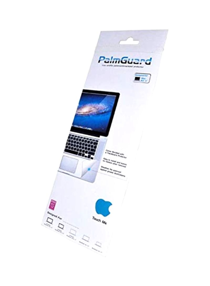 PalmGuard And TrackPad Protector For Apple MacBook Air 11-Inch Clear