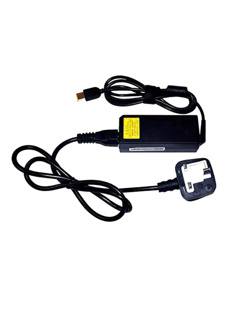 AC Power Laptop Charger Black