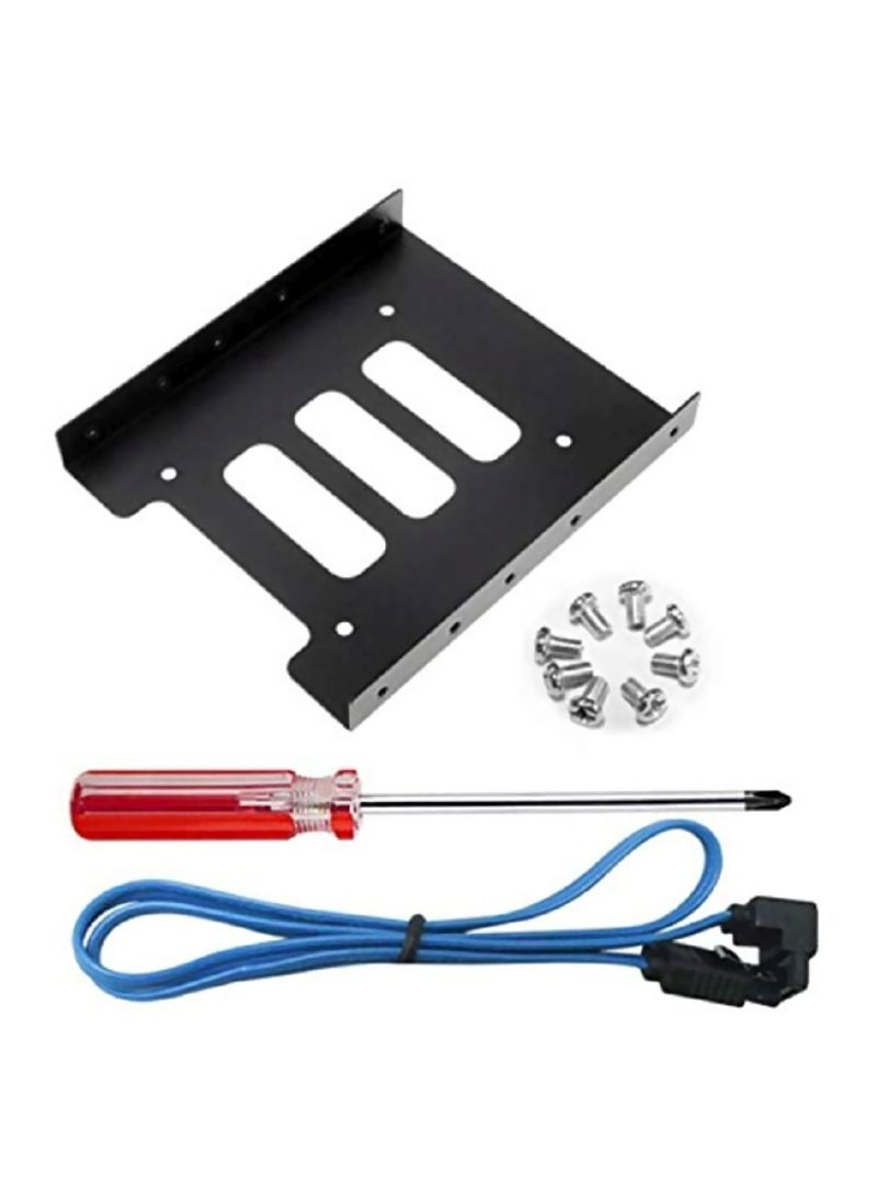HDD And SSD Case Holder For Desktop Computer Black/Silver/Blue