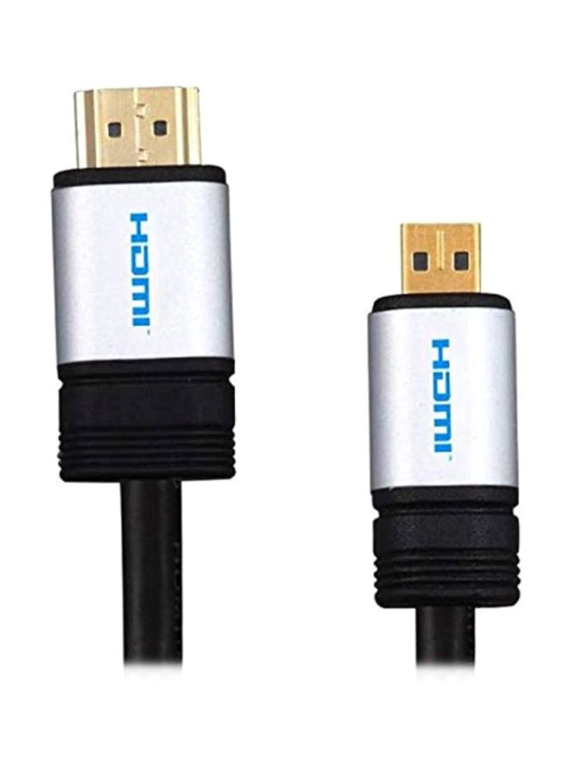 HDMI Cable For Lenovo Laptop 11.6-Inch Black 1.5 meter