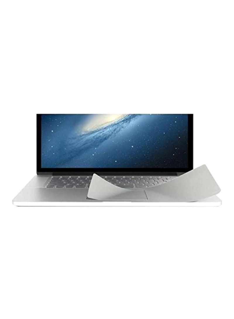 TrackPad Protector For Apple MacBook Pro 13-Inch Silver