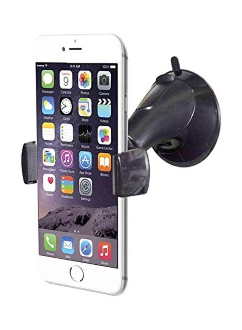 Car Mobile Mount Holder Black