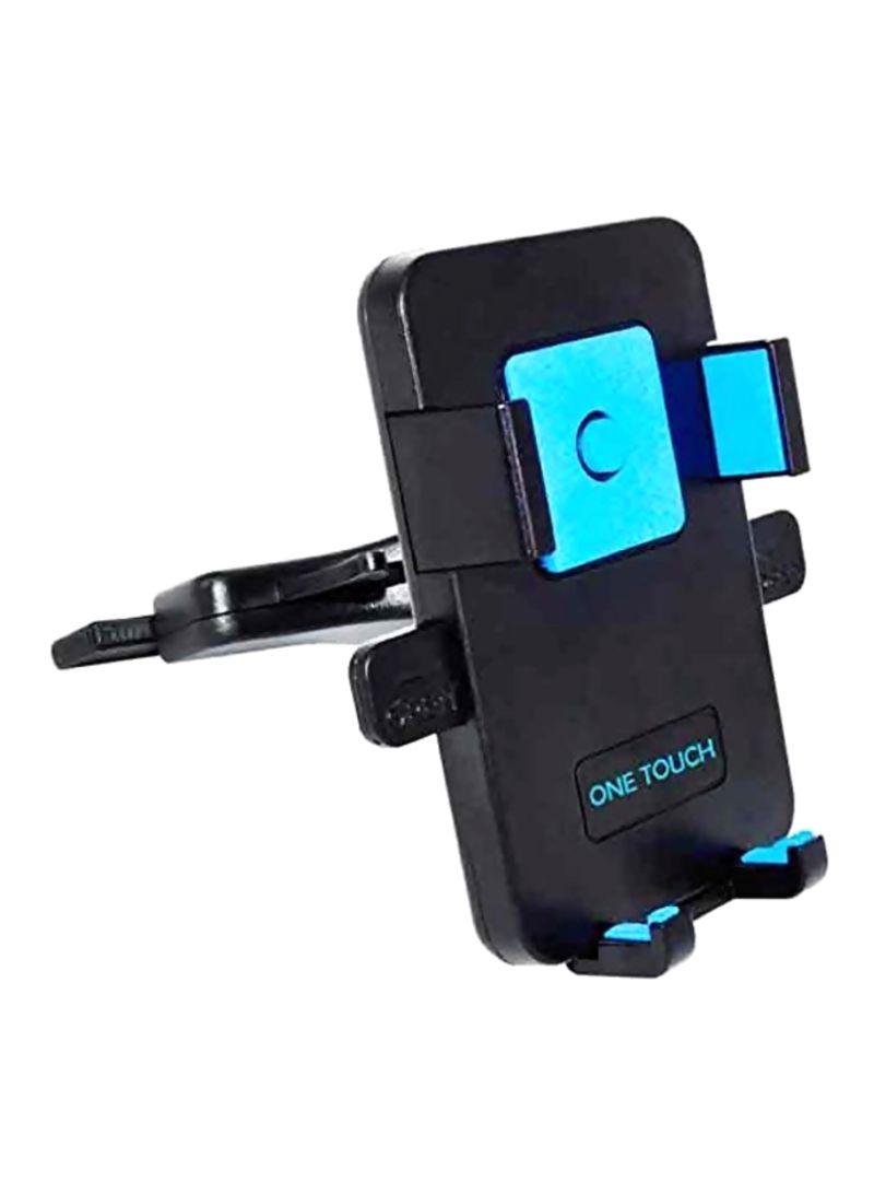 Car CD Slot Holder For Apple iPhone 6S/6S Plus/6/5S/5 Black