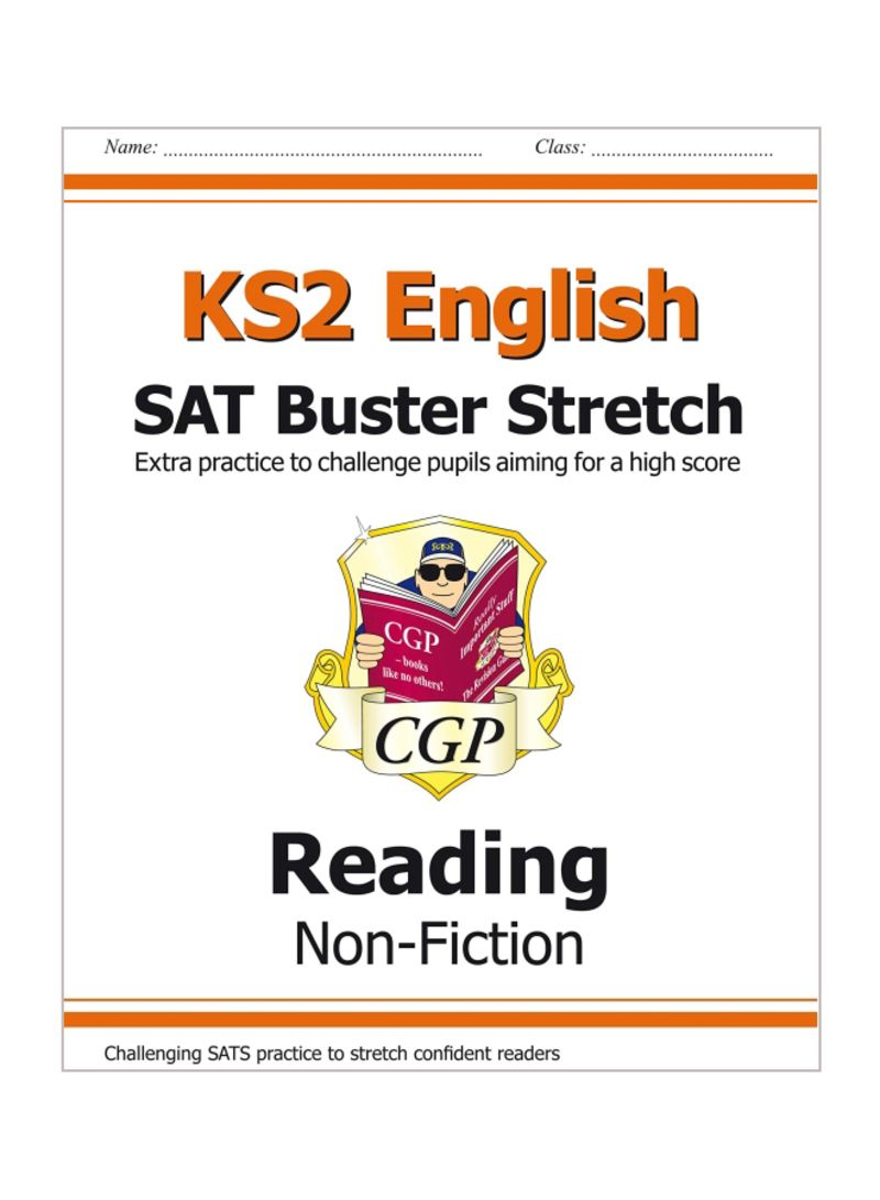 KS 2 English Reading SAT Buster Stretch Reading Non-Fiction Paperback
