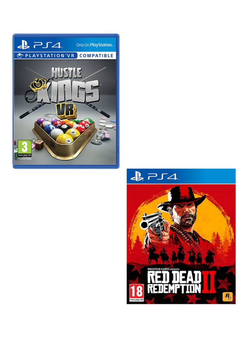 Hustle Kings VR + Red Dead Redemption 2  -  PlayStation 4