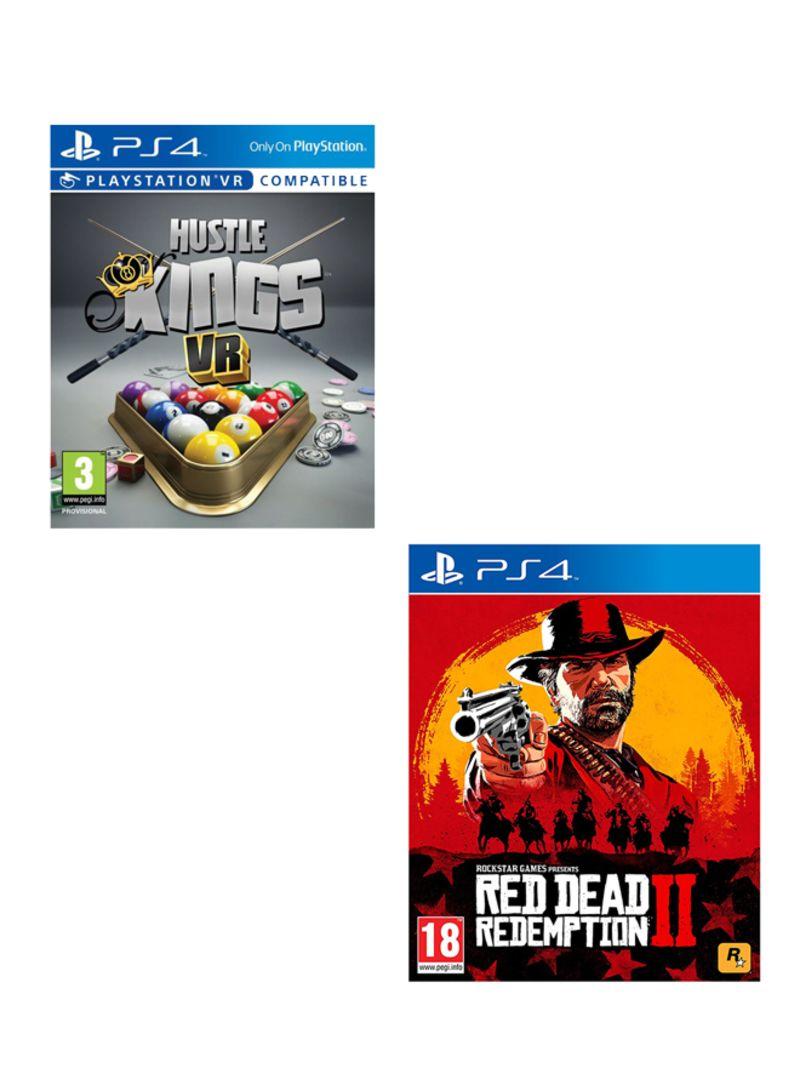 Hustle Kings VR + Red Dead Redemption 2  -  PlayStation 4
