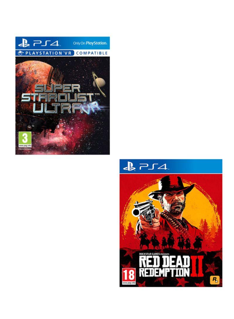 Super Stardust Ultra VR + Red Dead Redemption 2  -  PlayStation 4