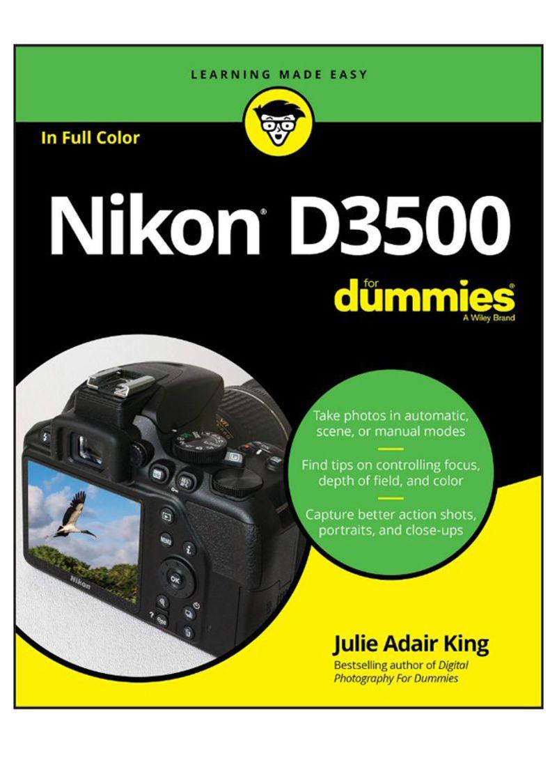 Nikon D3500 For Dummies Paperback