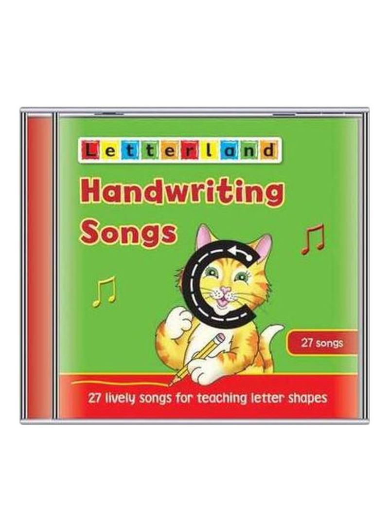 Handwriting Songs: 27 Lively Songs For Teaching Letter Shapes Audio Book