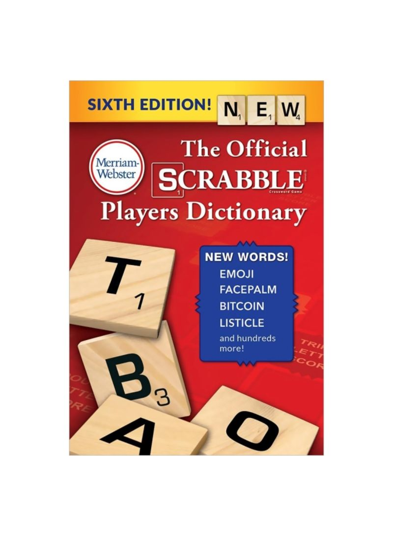 The Official Scrabble Players Dictionary Paperback