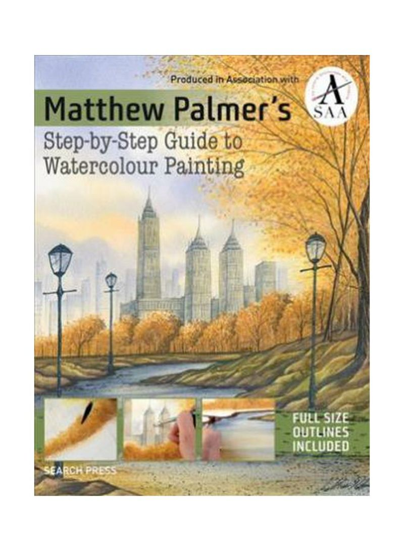 Step-By-Step Guide To Watercolour Painting Paperback