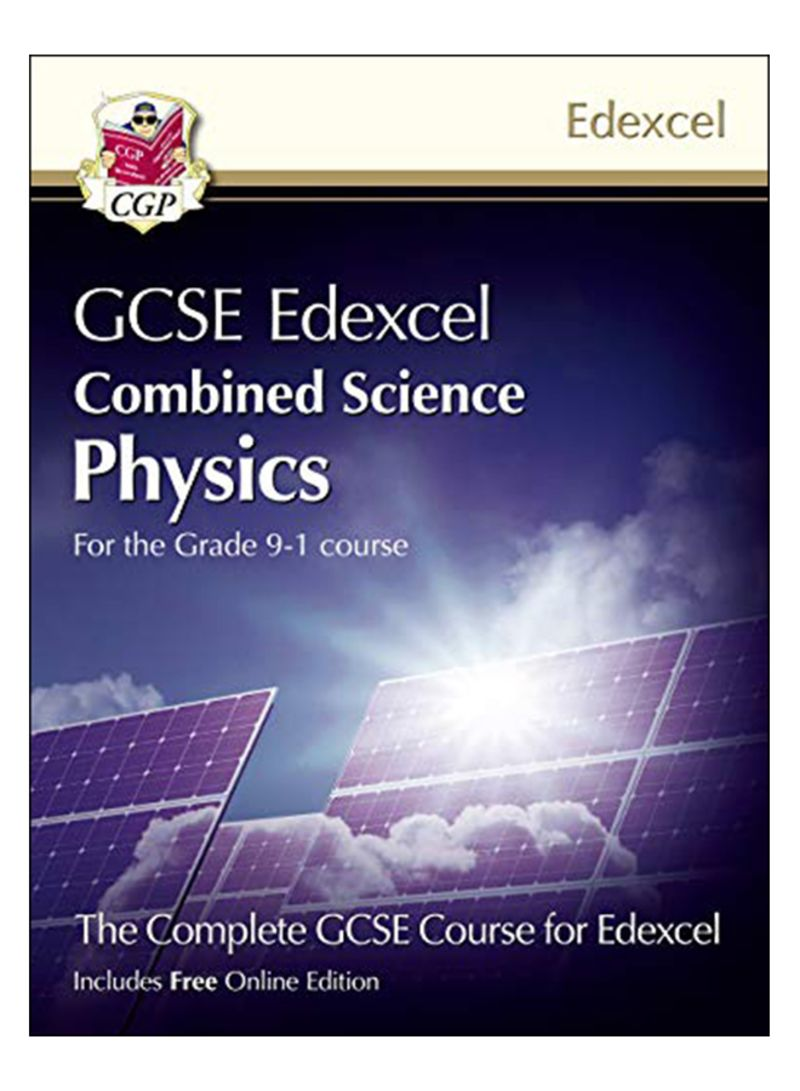 New Grade 9-1 Gcse Combined Science For Edexcel Physics Student Book With Online Edition Paperback