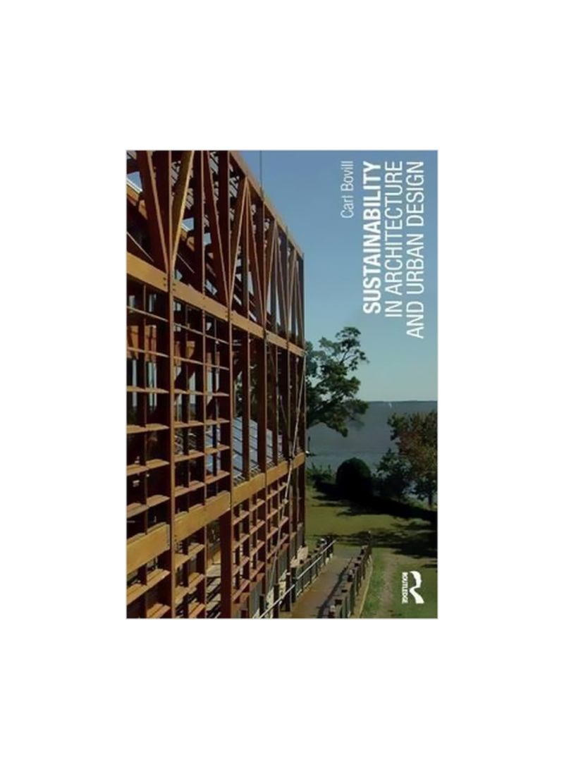 Sustainability In Architecture And Urban Design Paperback