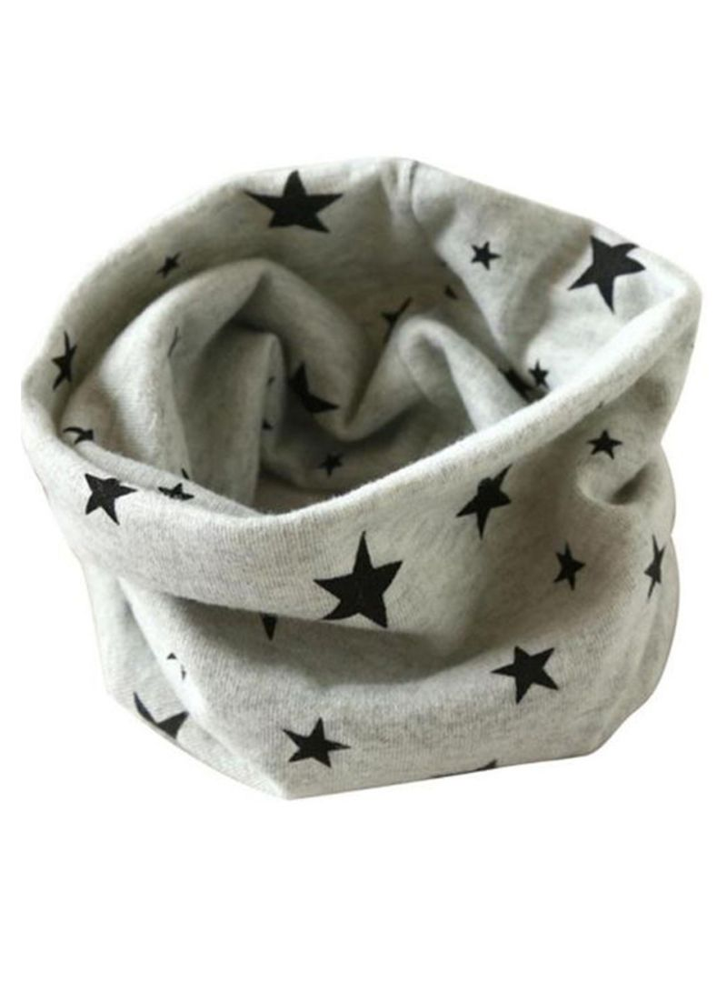 Star Printed Winter Sunscreen Headwear
