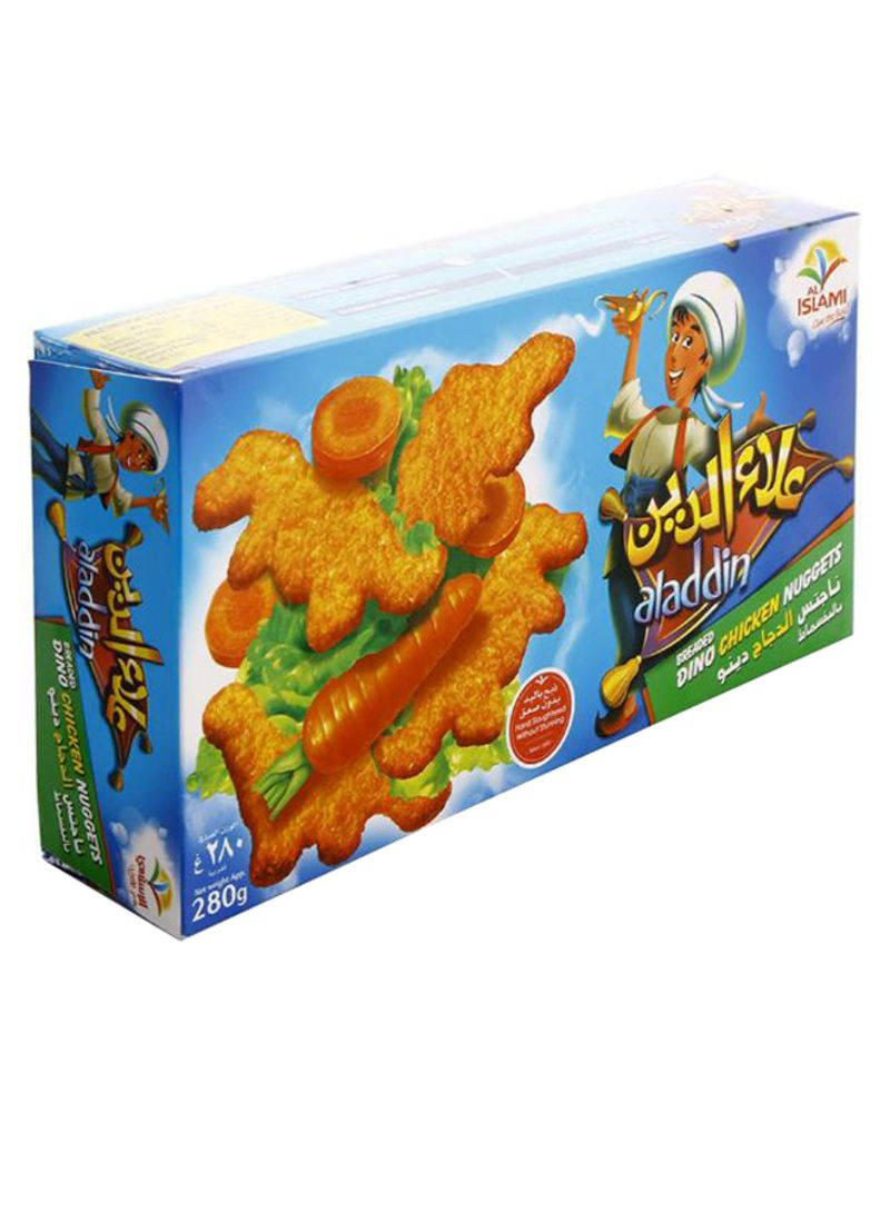 Aladdin Breaded Dino Chicken Nuggets 280 g