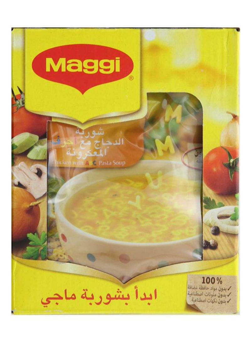 Chicken With ABC Pasta Soup 66 g Pack of 12