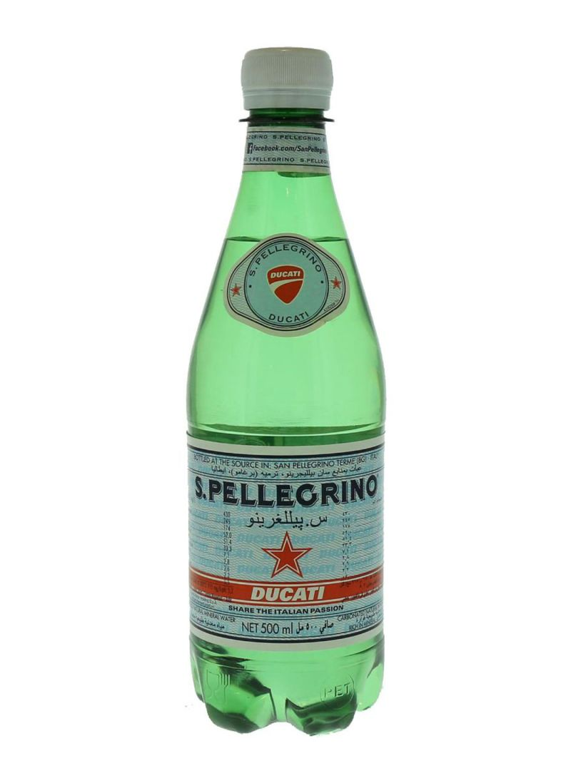 Carbonated Natural Mineral Water 500 ml