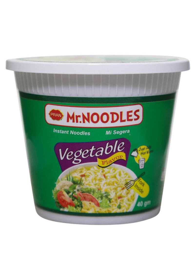 Mr. Noodles Instant Noodles Vegetable Flavor 40 g