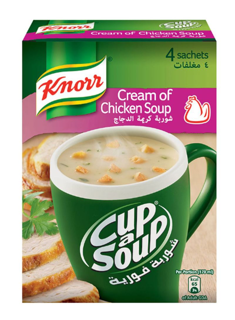 Cream Of Chicken Soup 18 g Pack of 4