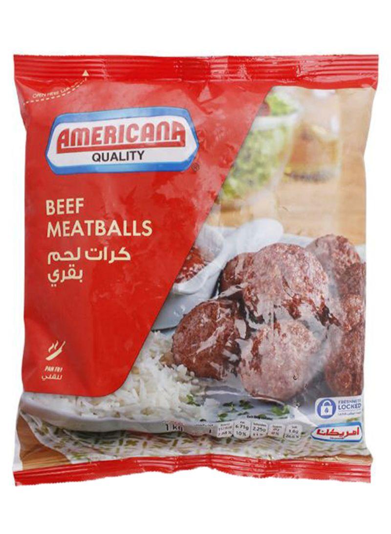 Beef Meatballs 1 kg