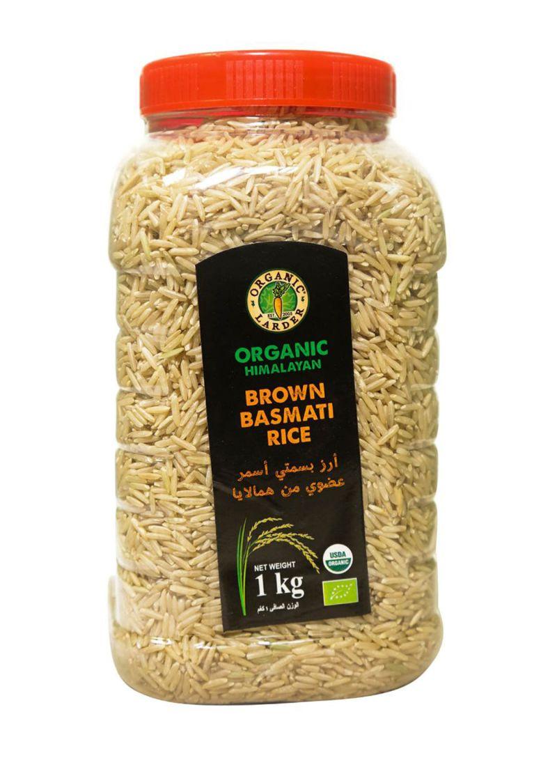 Organic Himalayan Brown Basmati Rice 1 kg