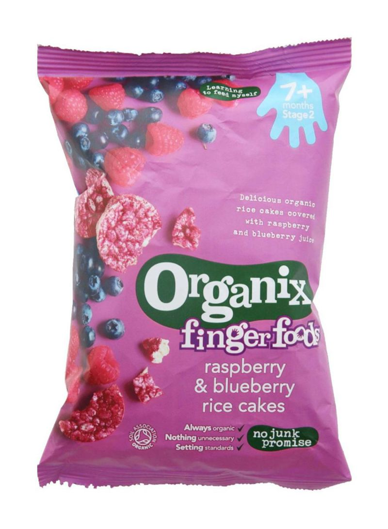 Raspberry And Blueberry Rice Cake 50 g