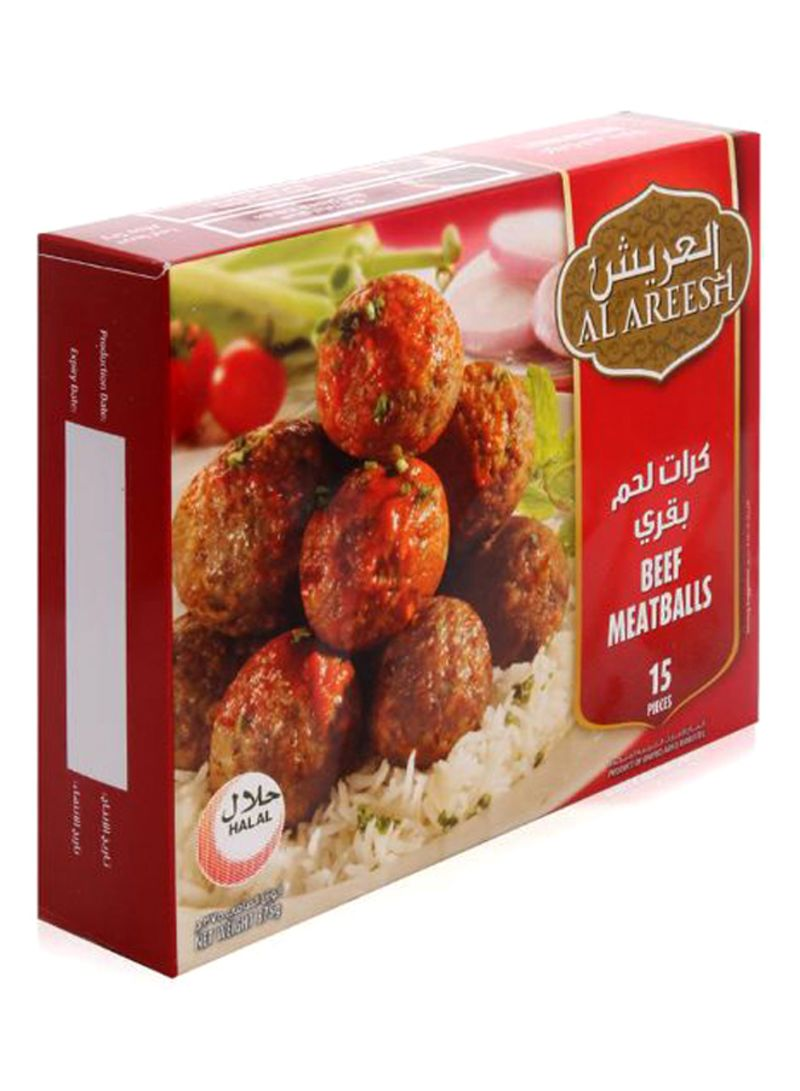 Beef Meat Balls 375 g Pack of 15