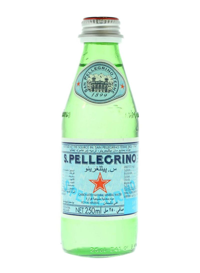 Carbonated Natural Mineral Water 250 ml